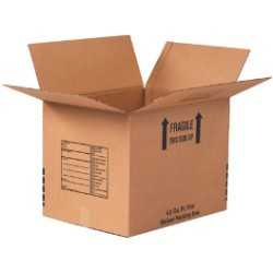 24'' x 18'' x 24''  Deluxe Packing Boxes - pack of 10