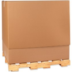 58'' x 41'' x 45''  350# Doublewall Corrugated Boxes - each