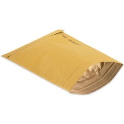 8 1/2'' x 12'' (2) Kraft  Padded Mailers - case of 100