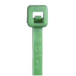 5 1/2'' Green Cable Ties - case of 1000